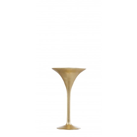 VASO MARTINI H 30 D.17 REAL GOLD
