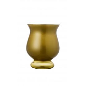 VASO TOLEDO H 21 METAL GOLD