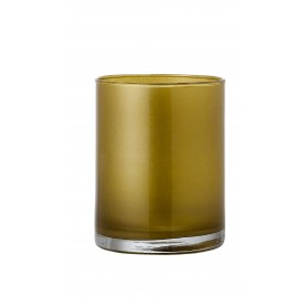 VASO CILINDRO H 37 D.19 METAL GOLD