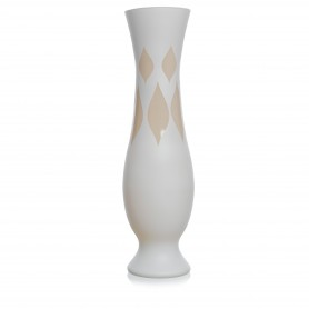 VASO OREGON  H 70 D.19 PARIS BIANCO/CRET