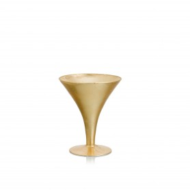 VASO MARTINI H 20 D.17 REAL GOLD