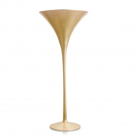 VASO MARTINI H 70 D.30 REAL GOLD