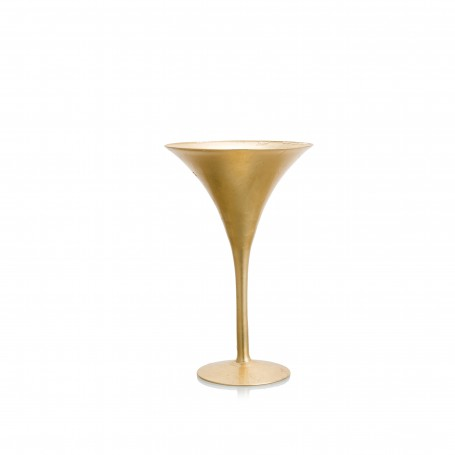 VASO MARTINI H 40 D.24 REAL GOLD