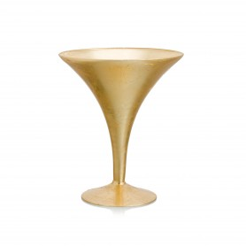VASO MARTINI H 30 D.24 REAL GOLD
