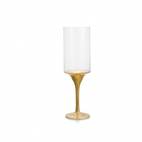 CIL. CON STELO D.15 H 50 REAL GOLD