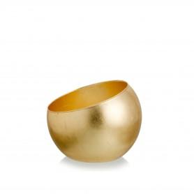 SFERA OBLIQUA D.25 H 20 REAL GOLD