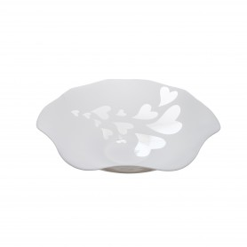 BOWL NATURAL D. 42 LOVERS BIANCO