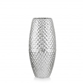 VASO DIAMOND H 37 D.18 REAL SILVER