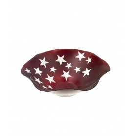 BOWL WEAVY D. 22 STAR ROSSO