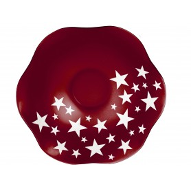 BOWL WEAVY D. 42 STAR ROSSO